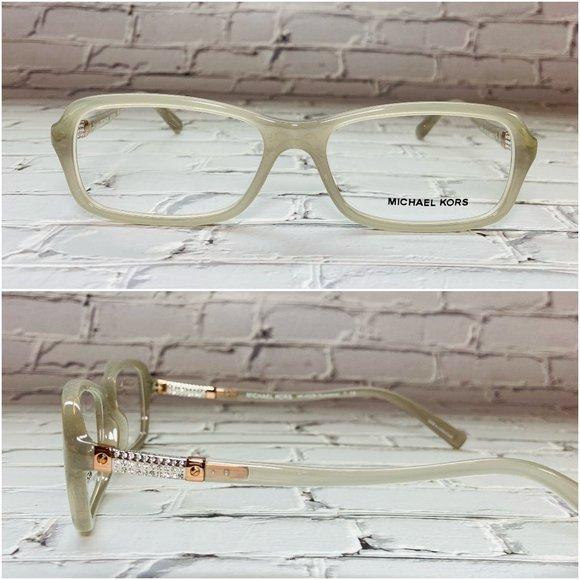 Michael Kors Rectangle Gray Eyeglass Frames NWOT